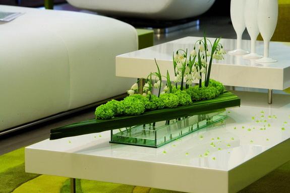 Art floral marie fran oise d prez photos for Table design japon